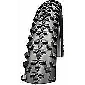 Schwalbe Smart Sam Performance Dual Compound Rigid Tyre in Black - 700 x 40mm Black
