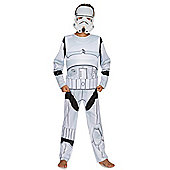 Star Wars Stormtrooper Light-Up Fancy Dress Costume - White