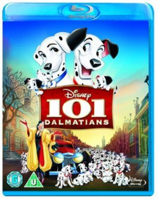 101 Dalmatians 1 Disc  - Blu Ray