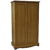 Richmond - Cd / Dvd / Blu-ray / Video Media Storage Cupboard - Oak