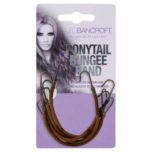 Leo Bancroft Hair Bungee - Brown