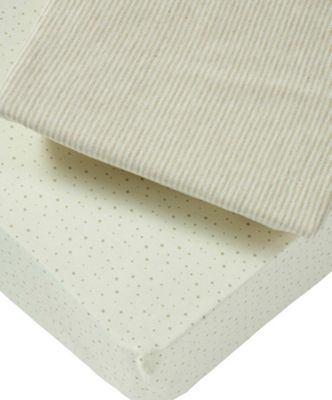 Mamas & Papas - Millie & Boris - Pack of Two Fitted Sheets