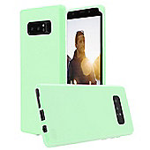 Note 8 Case - Orzly FlexiCase for Samsung Galaxy Note 8 - Green