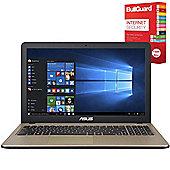"""ASUS X540LA-XX004T 15.6"""" Laptop With BullGuard Internet Security"""