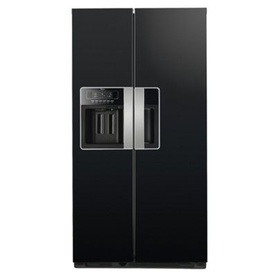 Whirlpool WSG5588AM Fridge Freezer, A+, 90.2, Black