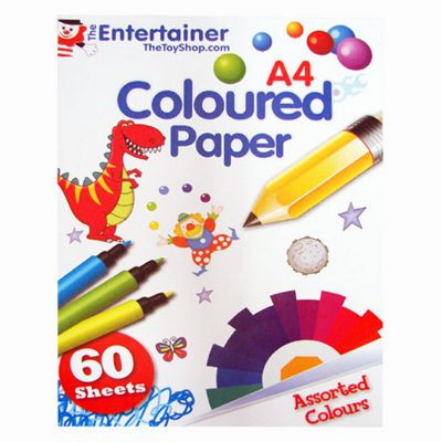 The Entertainer Coloured Paper Pack