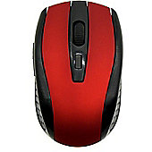 Maplin Pro Wireless 6-Button Mouse - Red
