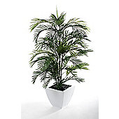 "Closer To Nature Artificial 4ft 5"" Areca Palm Tree"