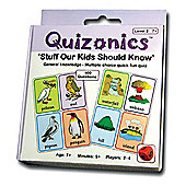 ZooBooKoo Quizonics Level 2 - 'Stuff Our Kids Should Know' for 7+ Years
