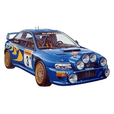 Tamiya 24199 Subaru Impreza Wrc 1:24 Car Model Kit