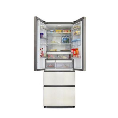 Haier B3FE742CMJW 4-door Door-and-drawer Fridge Freezer -Silver