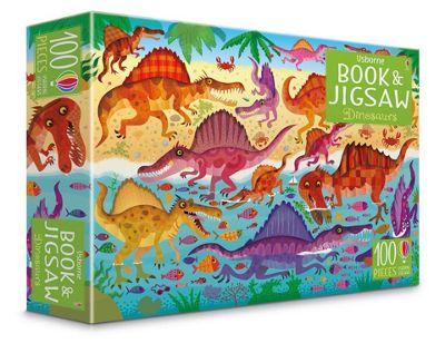 Usborne Dinosaurs Jigsaw & Picture Book