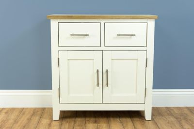 Nebraska Painted Oak - Cream Mini Sideboard