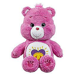 Care Bears Medium Shine Bright Bear with DVD