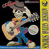 Alice Acoustic Guitar Strings - Super Light (.011-.052)