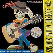 Alice Acoustic Guitar Strings - Super Light (.011-.052)