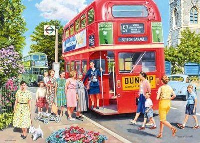 Catch the Bus - 1000pc Puzzle