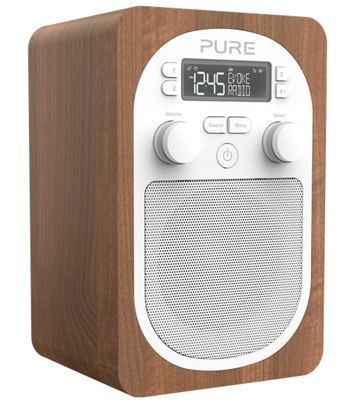 Pure Evoke H2 DAB Radio (Walnut)