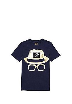 Run-D.M.C Band T-Shirt - Navy
