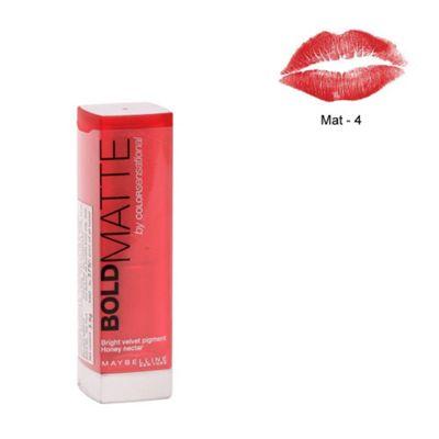 Maybelline Color Sensational Bold Matte Lipstick (MAT4)