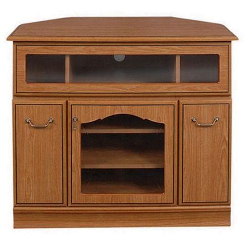 Caxton Lichfield Wooden Corner Entertainment Cabinet for LCD / Plasmas