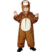 Child Monkey Costume Small