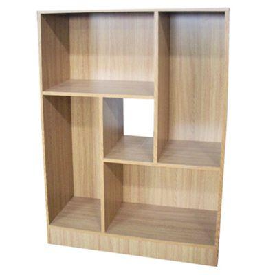 Balance - Display Cabinet / Storage Shelves - Oak