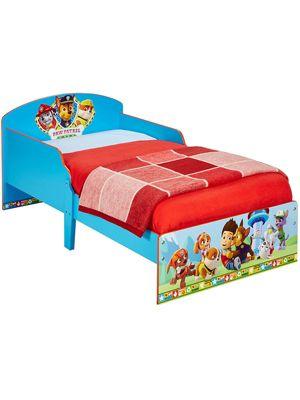 Paw Patrol Toddler Bed Blue & Fully Spring Mattress