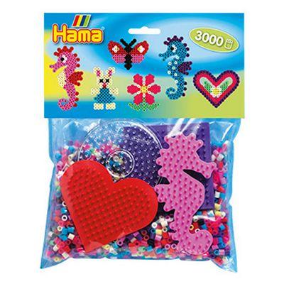 Hama Seahorse Pack - 3000 Beads