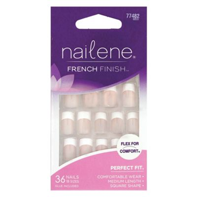 Nailene French Finish Artificial Nails 77482