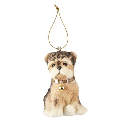 Terrier Dog Christmas Tree Decoration