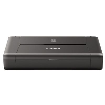 Canon PIXMA iP110 Portable Colour Inkjet Photo Printer (Black)