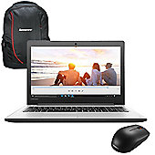 "Lenovo Ideapad 310 - 80TV0066UK - 15.6"" Laptop Intel Core i5-7200U 8GB 1TB Win 10 with Backpack & Mouse"
