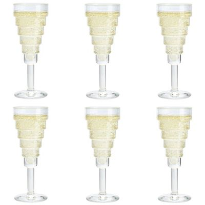 Durobor Etore Champagne Glass - 140ml - Pack of 6 Flutes