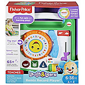 FISHER PRICE LAUGH & LEARN REMIX RECORD PLAYER