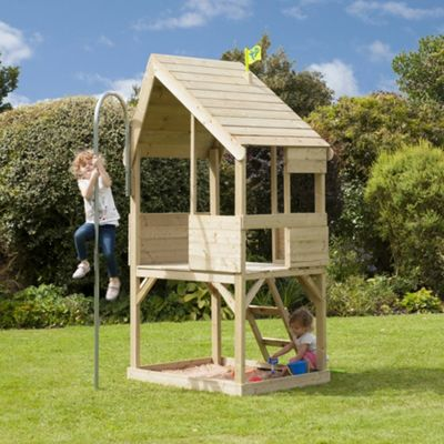 TP Forest Wooden Chalet Playhouse