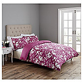 Fox & Ivy  Chinoiserie Duvet Set - Pink