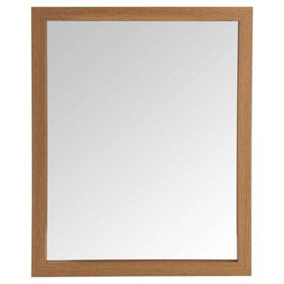 light wood bathroom mirror