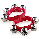 A-Star Large Wrist Bells - Red