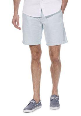 F&F Chino Shorts with Belt Turquoise 38 Waist