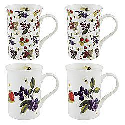 Traditional Berries Mugs 4pk