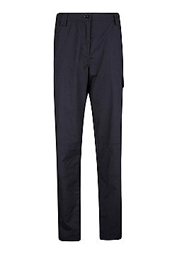 Mountain Warehouse Womens Lightweight Technical Trouser with Fast Drying Fabric - Black