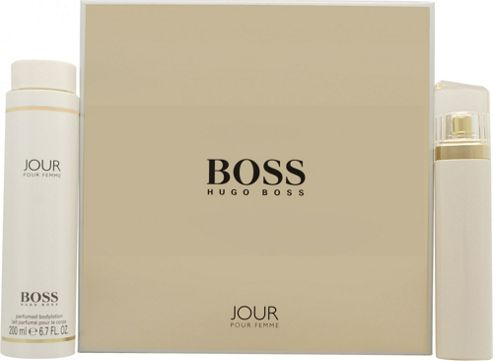 Hugo Boss Boss Jour Pour Femme Gift Set 75ml EDP + 200ml Body Lotion For Women