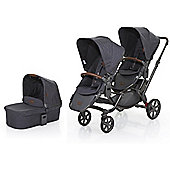 ABC Design 2017 Zoom Tandem & Carrycot (Street)