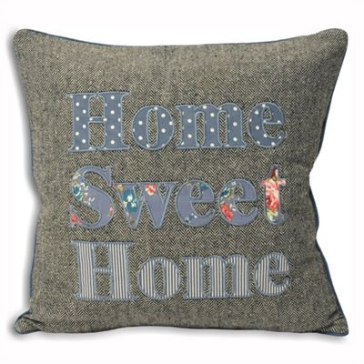 Riva Home Sweet Cottage Home Sweet Home Denim Cushion Cover - 45x45cm