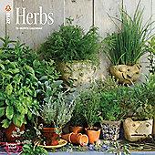 Herbs 2018 Square Wall Calendar 30x30cm