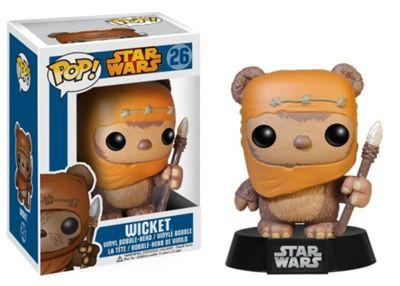 POP! Star Wars Ewok Wicket Vinyl Bobble Head - Action Figures