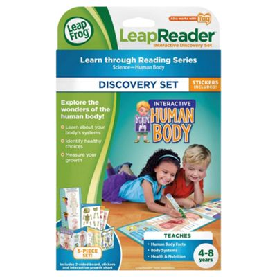 LeapFrog LeapReader Interactive Human Body Discovery Set