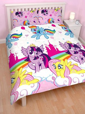 My Little Pony Equestria Double Duvet Cover Set