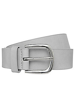 F&F Faux Leather Belt - Grey